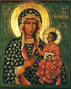 Czarna Madonna Czestochowska - Black Madonna of Częstochowa | Flickr – Compartilhamento de fotos!