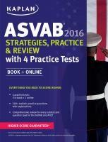 ASVAB, 2016 : strategies, practice & review