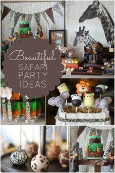 Safari+Birthday+Party+Ideas