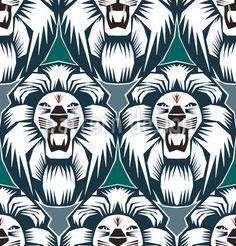 Der Löwe Ist Der König - Seeeehr wild! Extrem cooles Löwenkopf-Design in expressiver Ethno-Optik.