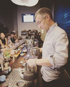 Tea hunter Pedro is brewing some specialty kombucha mead for Feast of the Harvest Moon   Five course dinner with tea and cocktail pairings   October 1st 7:00 pm   http://ift.tt/2bTgEAB #fallharvest #fermentation #fermentationdinner #teapairing #cocktailpairing #festoftheharvestmoon #kitsilano #teaevent