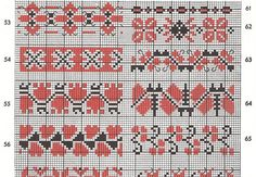 278 Charted Folk Cross Stitch Charts  Cross Stitch 1978 DIGITAL PDF Pattern