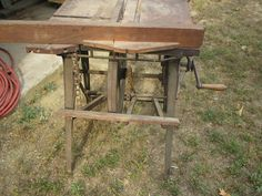 The Barnes Treadle Table Saw on Chris' blog at Wood - by TopamaxSurvivor @ LumberJocks.com ~ woodworking community