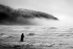 Photographer Nicolas Bouvier Shoots Figures in Silhouette Against Mysterious and Foreboding Landscapes (Colossal) Amazing Photography, Art Photography, Polaroid, Silhouette Photography, Colossal Art, Oregon Coast, French Art, Beautiful World, The Dreamers
