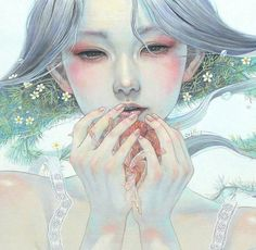 Miho Hirano / 平野 実 穂   Pop Fantasy Art   Tutt'Art @   Pittura * Scultura * Poesia * Musica  