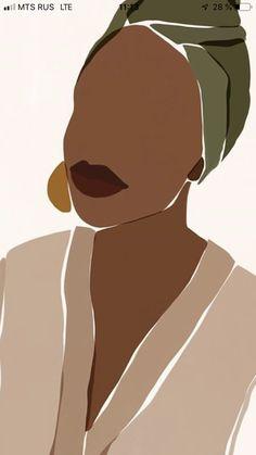 Children's Art Paintings – Viral Gossip Art And Illustration, Black Girl Art, Art Girl, Art Sketches, Art Drawings, Posca Art, Drawn Art, Arte Sketchbook, Art Africain