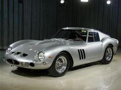 Ferrari 250 GTO in silver #ferrariclassiccars