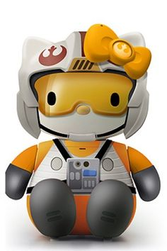 Hello Kitty Piloto Star Wars