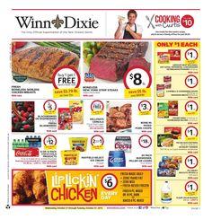 Winn Dixie Weekly Ad October 21 - 27, 2015 - http://www.olcatalog.com/grocery/winn-dixie-weekly-ad.html