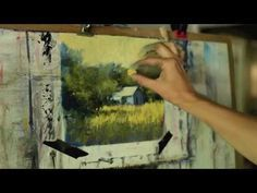 Pastel Landscape Painting Video - The Summer Tree by Bethany Fields - YouTube