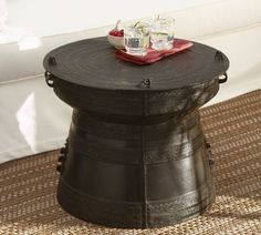 Frog Rain Drum Accent Table $499.00