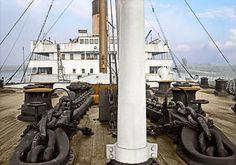 Des photos du Titanic recolorisées   Glamour
