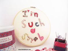 Embroidery design art I'm such a snob Embroidery by ThimbleHoop