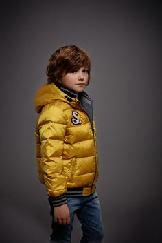 @IKKS Believes in you Junior fall winter 2014, yellow bomber jacket. Our favorite! IKKS is a new entry at Pitti Bimbo #IKKS #FW14 #fall #winter #fallwinter2014 #childrens #kids #childrenswear #kidswear #kidsfashion #girls #boys #pittibimbo78