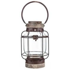Get Retro Wood & Iron Lantern online or find other Accent Pieces products from HobbyLobby.com