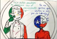 Hetalia Funny, Mundo Comic, Smurfs, Cartoon, Country, Memes, Wattpad, Kawaii, Fictional Characters