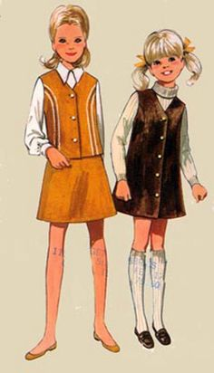 1960s Vintage Sewing Pattern Butterick 5052 Girls by sandritocat, $8.00