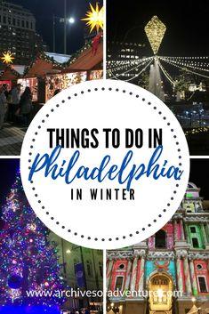 Philadelphia Travel | United States Travel | Winter Travel | Winter in Philadelphia | Philadelphia Pennsylvania | Holiday travel | Holiday travel Philadelphia | #Philadelphia #VisitPhilly #PhiladelphiaWinter