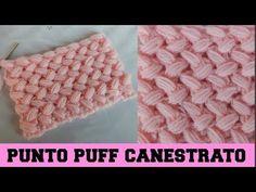PUNTO PUFF CANESTRATO- NUNZIA VALENTI - YouTube