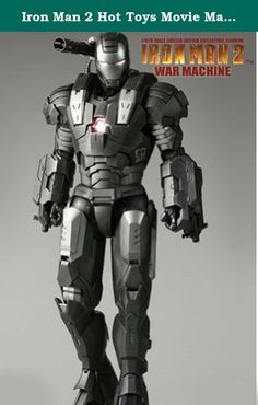 Iron Man 2 Hot Toys Movie Masterpiece 1/6 Scale Collectible Figure War Machine. Hot Toys is proud to present the 1/6th scale War Machine collectible figure from the Iron Man 2 movie. The movieaccurate War Machine collectible is highly detailed and fully deployed, specially crafted based on the image of Don Cheadle as the wellreceived character War Machine in the movie, highlighting the well equipped armor, lightup functions and weapons.The 1/6th scale War Machine collectible figure…