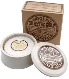 Mitchells Wool Fat Ceramic Dish and Shaving Soap Mitchell's Wool Fat Soap Ltd http://www.amazon.co.uk/dp/B002ZC9FRU/ref=cm_sw_r_pi_dp_8c9Utb16VGY8SG2H
