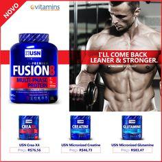 Se você está procurando intensificar seus treinos e promover um maior crescimento muscular, você tem que experimentar estes produtos!!!   http://br.evitamins.com/usn