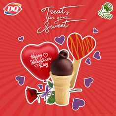 Free DQ Treats for your Sweet on Valentine's via PiiP Mobile App