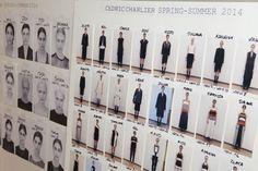 Backstage défilé Cédric Charlier prêt-à-porter printemps-été 2014, Paris. #PFW #backstage #fashionweek