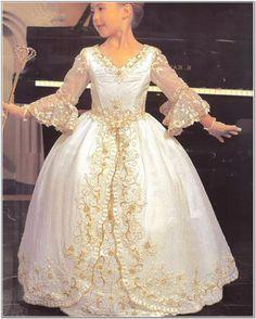 font-b-Gold-b-font-Embroidery-font-b-Girls-b-font-Pageant-font-b-Dresses.jpg (813×1013)