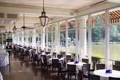 The Loeb Boathouse Central Park...where we had brunch after our Central Park wedding