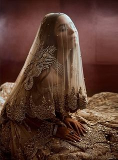 "threadsandmotifs: ""Fashion : Shehla Photoprahs & Retouch : Stopstyle Art Direction : Hashim Ali Hair & Make-up : Nabila Models : Sadaf Kanwal, Fahmeen Ansari, Neha Rajpoot, Aimal Khan, Walid Siddiqui "" Desi Wedding Dresses, Bridal Dresses, Ethnic Fashion, Indian Fashion, Indian Aesthetic, Brown Girl, Indian Outfits, Beautiful Dresses, Marie"