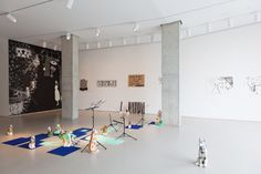 """Kemang Wa Lehulere, Installation view of """"Sleep is for the Gifted,"""" 2013 Lombard Freid Gallery South African Artists, Artsy, Sleep, Mirror, Gallery, Furniture, Magazine, York, Home Decor"""