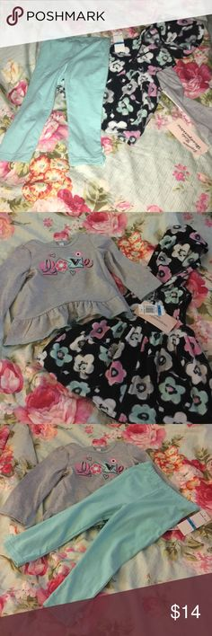 Fall Outfit Three piece, snugly, warm - perfect for fall - outfit! Never been warn, new with tags! Kids Headquarters Matching Sets