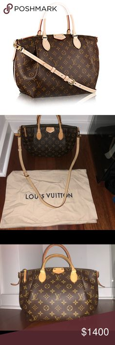 Louis Vuitton Turenne PM 2017 Louis Vuitton Turenne PM - purchased at Louis Vuitton store in August 2017, only used a few times right after it was purchased. Comes with original dust bag and long detachable handle strap. In excellent (like new) condition. Louis Vuitton website currently has a waitlist for this handbag! Louis Vuitton Bags Totes