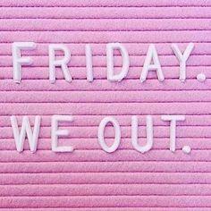 Workweek, it's been real   #NationalPinkDay #millennialpink  #rg @pietronolita