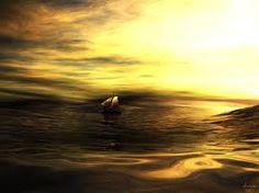 Vedi ha strade d'acqua la notte, arcipelaghi e luminanze che premono dagli occhi...    Ogni parola scritta sulla sabbia domani all'alba Mare cancella..  Chi senza angoscia ode di noi/entro il silenzio universale i sordi gemiti del tempo/la profetica voce dell'addio?Io cercavo inquieto dei motivi d'indugio e adducevo a pretesto gli auspici e i tristi presagi...  nel fuoco, mio amore lo vedi, lo senti cade il tramonto e in quel nero che arde le memorie di te e di me saranno solo vento..