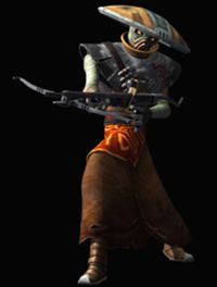 Embo from Star Wars: The Clone Wars with a crossbow