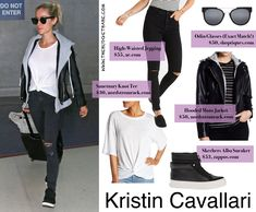 681111dc315647 Re-Create Kristin Cavallari s Airport Style with a Look for Less - The  Budget Babe