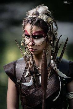 All things fantasy larp related Goa Style, Cosplay, Tribal Warrior, Woman Warrior, Post Apocalyptic Fashion, Post Apocalypse, Hippie Man, Tribal Fusion, Warrior Princess