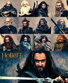 Dwarves of The Hobbit