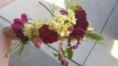 Bridal Party Floral Crown Beauty by www.liveventsaz.com