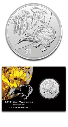 Kiwi 1oz Silver coin from New Zealand - mintage only 13.500 - sold out at the mint!