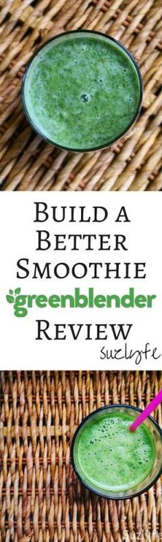 A Better Liquid Diet with Green Blender Smoothies. Check out my review of this organic, vegan smoothie delivery service! Build a Better Smoothie | suzlyfe.com