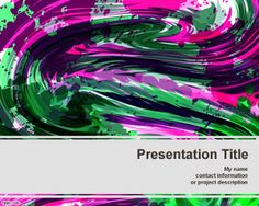 Color Crayon template for PowerPoint is a free color PowerPoint presentation template that you can download for arts or presentations on canvas