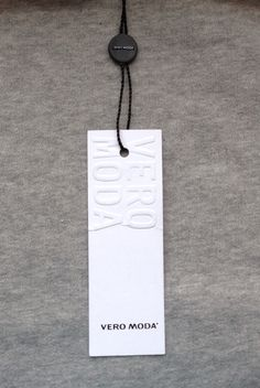 Vero Moda hang tag