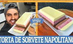 COMO FAZER TORTA DE SORVETE NAPOLITANO | Ana Maria Brogui #488