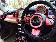 MINI Dashboard Rings (R55/R56/R57/R58/R59/R60) - Choice of Colours & Styles - Chromiumtech Limited