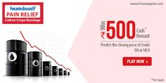 #Predict the closing price of #CrudeOil at #MCX and win Rs. 500 cash.  http://www.foreseegame.com/user/GamePlay.aspx?GameID=%2fKukMYpLgCDSdB3y5aEB0g%3d%3d