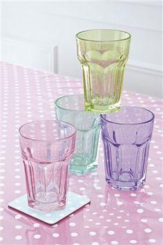 Pretty glass tumblers