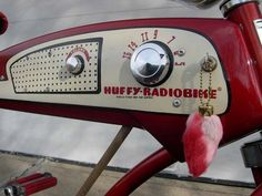 CYCLIVIST - a blog for cyclists. -  1955: The Huffy Radio Bike